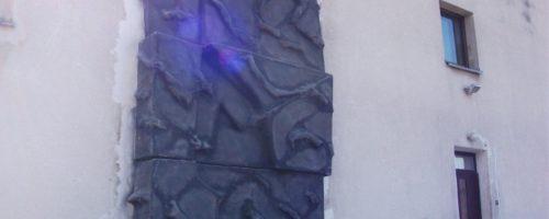 ściana wspinaczkowa dru